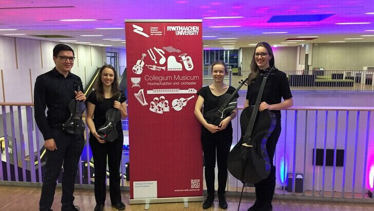 Carbon Fiber Quartet on RWTH Science Night
