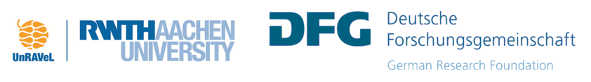 Logo of UnRAVeL and DFG